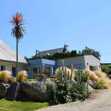 Le jardin privatif de la Villa des Pins