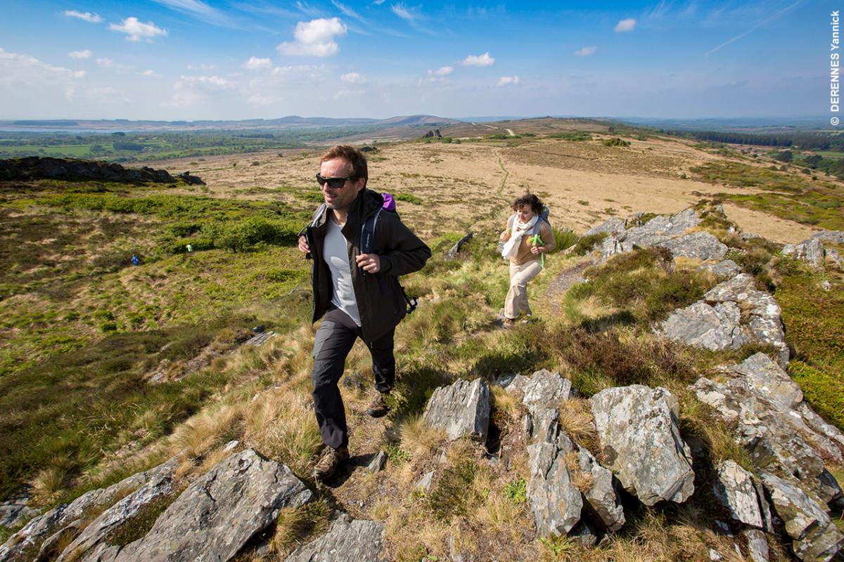 Randonnée au roc'h de Trévezel dans les Monts d'Arrée