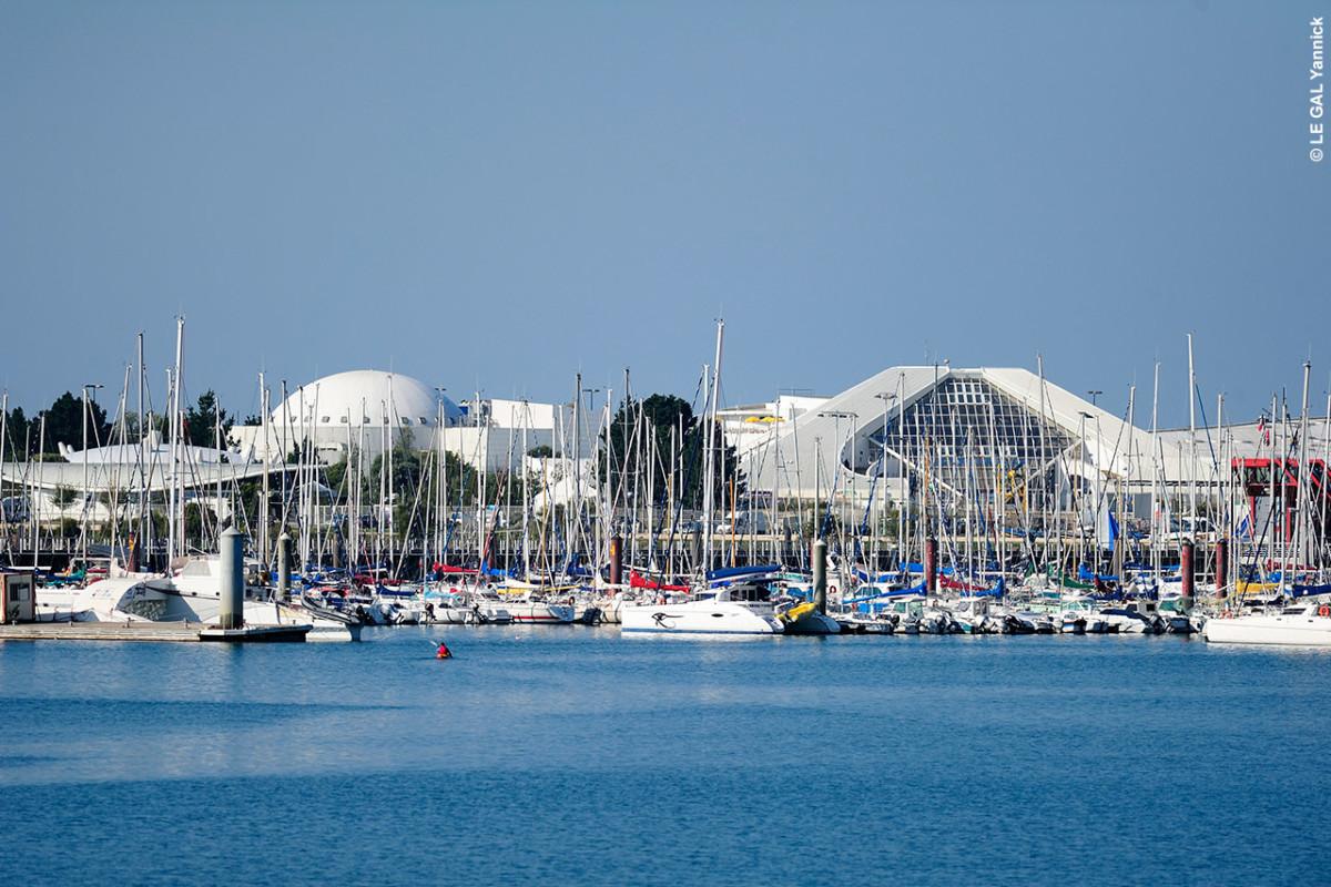 Océanopolis au port de commerce de Brest
