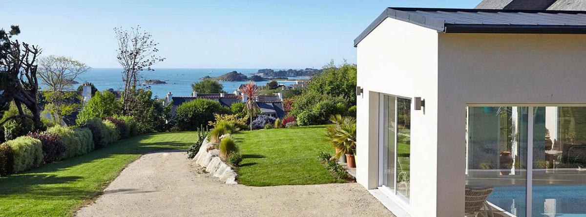 Maison de location avec vue sur mer