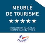 Meublé de tourisme 5 étoiles
